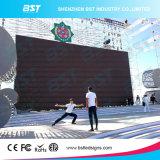 Facendo pubblicità a P8 disegno esterno di Fanless della parete della visualizzazione di LED dell'affitto da 640 x 640 millimetri