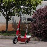 Lichte Vouwende Elektrische Autoped 250W voor het Hete Verkopen van Jonge geitjes