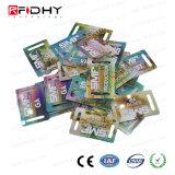 Изготовленный на заказ размер RFID франтовское MIFARE плюс карточка s 4K