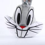 Real Like Stuffed Animal Rabbit Head Plush Pillow