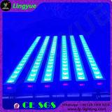 van de LEIDENE van de Kleuren van de Verandering 18X12W RGBW DMX het Licht Was van de Muur Binnen