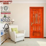 Guangdong Manufacture Louver Interior Design de escultura de porta principal (GSP2-021)