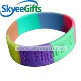 Nuovo braccialetto alla moda del silicone di segmento del commercio all'ingrosso di alta qualità di disegno