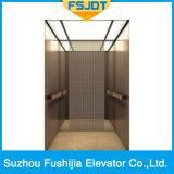 Elevatore della villa con l'acciaio inossidabile della linea sottile dell'oro di Chapagne