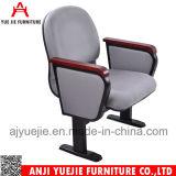 Asiento plegable de tela de lino Rojo Simple silla de salón Yj1007