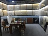 Tuile en céramique glacée blanche de modèles de la Chine Carrare de constructeur pour la salle de bains
