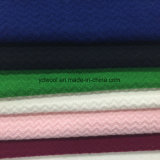 Estilos de onda de lana tejido listo Greige