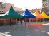 51インチ-おおいが付いている高い2人の二重層のドームのテント