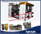 2 machine d'impression en plastique de Flexo de sac à provisions de Flexo de couleur d'impression de couleur de papier de la machine 2