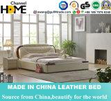 가정 가구 (HC903)를 위한 새로운 고전적인 왕 침실 가구 가죽 침대