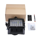 LED6360海洋車Excを採鉱するスポーツユーティリティ4WD 4X4のための黒いアルミニウムハウジングIP68 DC10-30V 9inch 360W正方形LEDのドライビング・ライト