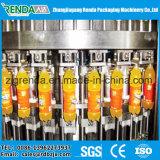Máquina de enchimento Isobaric para o gás que contem a bebida