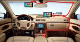 Androider Systems-AutoDVR Rearview-Spiegel mit Bluetooth WiFi Funktion