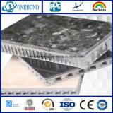Panel de nido de abeja de fibra de vidrio de piedras para revestimiento de pared
