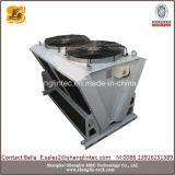 Échangeur de chaleur refroidi par air en aluminium d'ailette de tube de cuivre