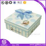 선물 상자 열려있는 주문 로고 인쇄 Kraft 종이 활주