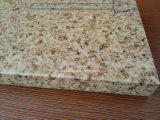 Painéis de revestimento de parede exterior de favo de mel pintados em grão de pedra