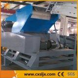 PE residuos de plástico de trituración y lavadora