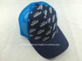 Sombrero de encargo del camionero del algodón/del poliester con diseño impreso de la insignia