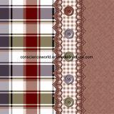Plaid Pigment&Disperse der Spitze-100%Polyester druckte Gewebe für Bettwäsche-Set