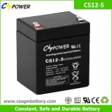 Cspower 12V 5ah UPS 의 전자 장난감을%s 깊은 주기 AGM 건전지