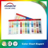 Cartão de cor personalizada do presente da pintura da alta qualidade