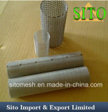 Filtre de cylindre de treillis métallique de S.S. 304/filtre de cartouche