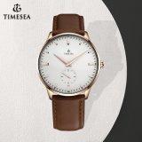 La moda de buena calidad en acero inoxidable reloj para hombre reloj de pulsera 72318