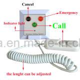 Botão de atendimento ao paciente para clínica hospitalar
