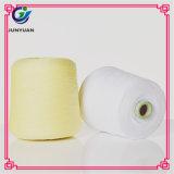 La vendita diretta della fabbrica ha tinto il filato cucirino filato 100% del rivestimento di cuoio del cotone dell'anello