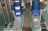 Máquina de etiquetas autoadesiva das latas plásticas para a parte superior & os lados