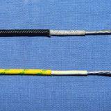 borracha de silicone 16-26AWG isolada e fio trançado da fibra de vidro