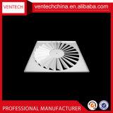 HAVCシステム換気の金属の調節可能な刃の渦巻の拡散器