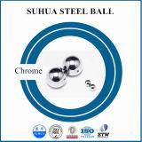 bola revestida de la plata de la bola de acero de carbón de 3.175m m