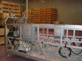 Ce Zlp1000 Plate-forme suspendue en alliage d'aluminium Accès berceau Échafaudage Gondole