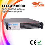 Amplificatore di potere a doppio canale stereo del codice categoria HD DJ di I-Tech8000HD