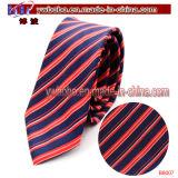 Laço de seda personalizado relativo à promoção do poliéster dos acessórios do cabo da gravata (B8023)