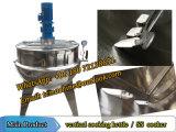Chaleira de cozinha vertical de 500 litros para chaleira de cozinhar