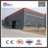 Almacén prefabricado de la estructura de acero con el panel de emparedado
