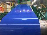 La alta calidad prepintó la bobina de acero galvanizada para el material para techos del azulejo
