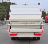 La vente chaude 4X2 6 tonnes de déchets rassemblent le camion camion de compacteur d'ordures de 6 T