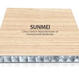 Certifié en aluminium brossé panneau sandwich Honeycomb Core