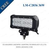 De Garantie van Lmusonu 18 Maanden IP67 12V-30V 7.5 LEIDENE van Combo ATV van de Rij van het Voertuig van de Duim Dubbele Lichte Staaf 36W