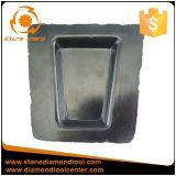5 puntos Diamond Resin-Bond Frankfurt bloque de mármol de granito pulido