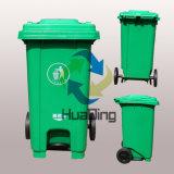 Pattumiera della plastica aperta pedale residuo 100L della soluzione