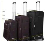 4動かされた旅行荷物の柔らかい側面3の組のトロリー袋の荷物