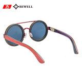 Óculos de sol de madeira do skate da boa qualidade