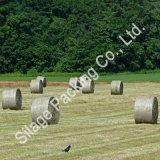 農業の草の覆いのネット、農場のパッキングのための安い編まれたネット、ニュージーランドのための強いベールネット