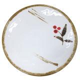 """멜라민 Tableware/12 """" 둥근 격판덮개 또는 둥근 접시 (AT13807-12)"""