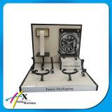 Reloj de Madera Proveedor de Gama Alta Exposicion Stand Reloj Display Stand